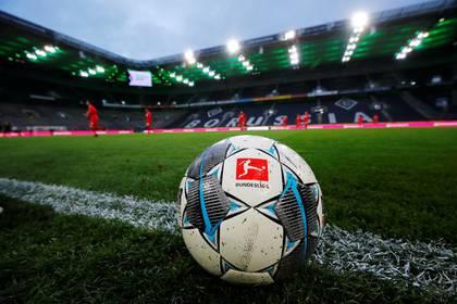 Foto de archivo ilustrativa del balón oficial de la Bundesliga el 11 de marzo de 2020 (REUTERS/Wolfgang Rattay)