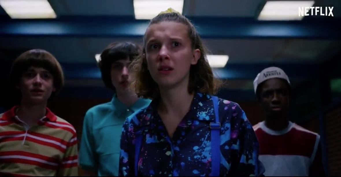 "Mike (Finn Wolfhard), Dustin (Gaten Matarazzo), Lucas (Caleb McLaghlin), Max (Sadie Sink) y Will (Noah Schnapp) también regresan para combatir al ""Demargorgon""(Foto: Netflix)"
