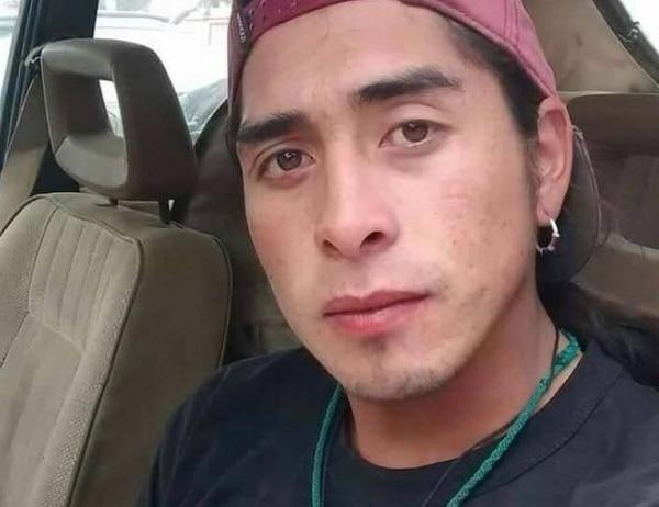 El joven mapuche Rafael Nahuel