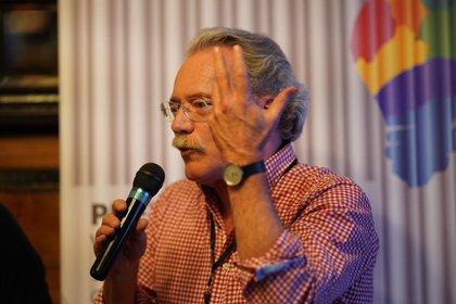 El escritor venezolano Alberto Barrera Tyszka