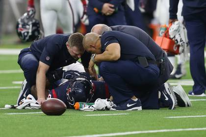 Los receptores son los que registran una mayor incidencia de lesiones (Foto: Thomas B. Shea-USA TODAY Sports)