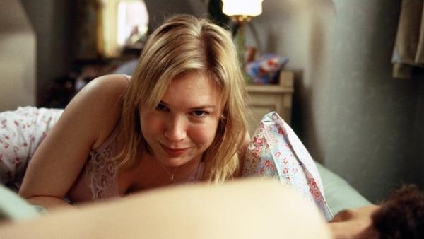 """Renée Zellweger es una escena de """"Bridget Jones"""""""