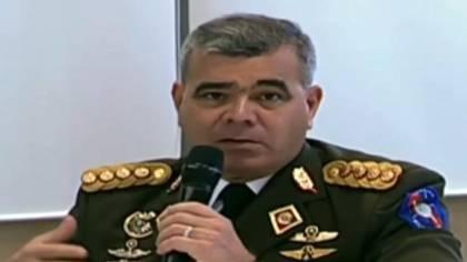 El ministro de la Defensa de la dictadura de Venezuela, Vladimir Padrino López