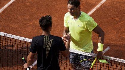 En seis meses ganó su primer título ATP en el mismo torneo que salió campeón, llegó a los octavos de Roland Garros y se metió entre los 60 mejores del mundo (Foto: AFP)