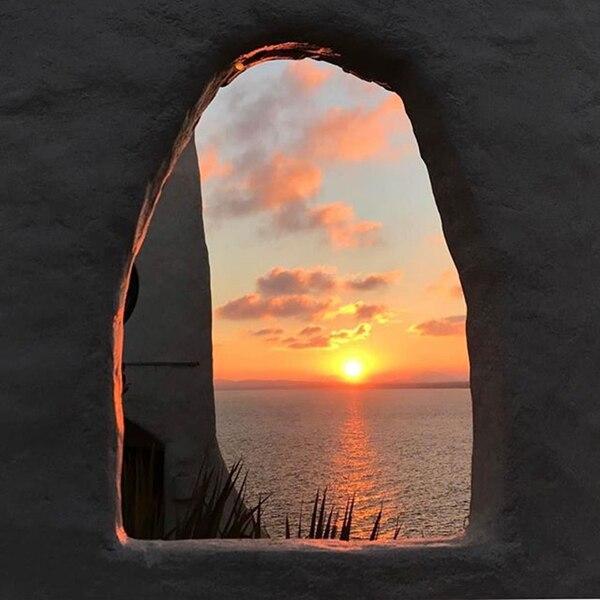 Desde la 'escultura viviente' Casapueblo el día se transforma en noche (@cgarcin)