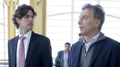Mauricio Macri y Martín Lousteau (NA)