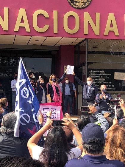 Aunque no obtuvo registro de partido político, hace tres semanas México Libre anunció que haría una consulta interna a sus militantes para decidir el futuro inmediato (Foto: Twitter)