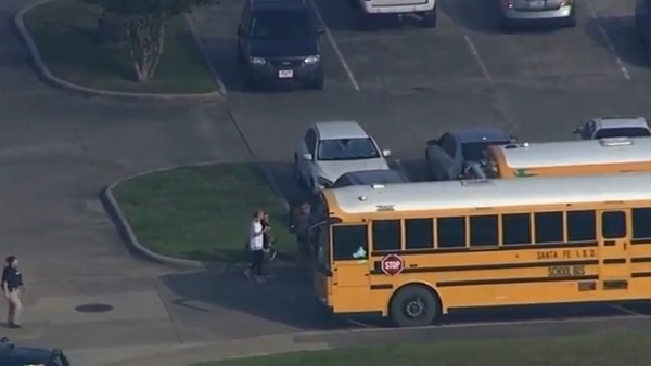 La Oficina del Sheriff del Condado de Galveston y otras agencias se presentaron en la escena de forma inmediata