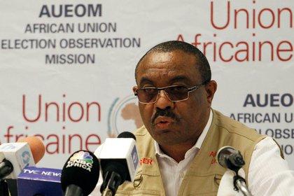 Hailemariam Desalegn, ex Primer Ministro de Etiopía (REUTERS/Gbemileke Awodoye)