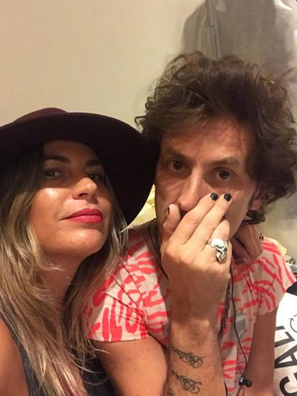 El músico y Larrarte están separados desde octubre del año pasado (Instagram: @valelarrarte)