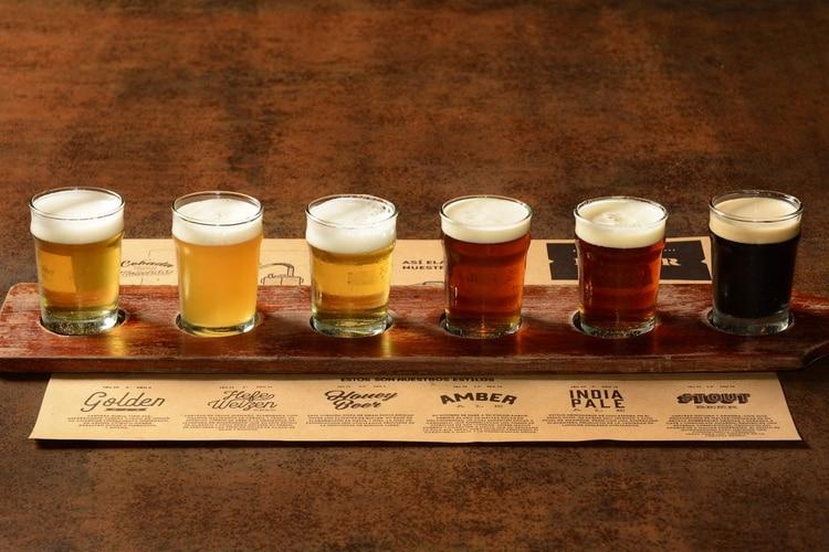 Los diferentes estilos de cervezas que hay en Buller