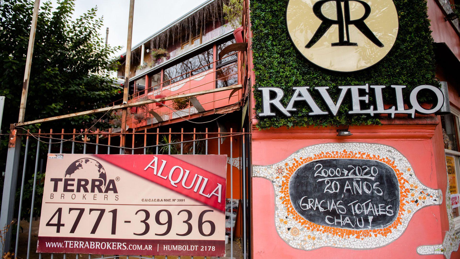Negocios Cerrados por cuarentena en Palermo y Barrio Chino