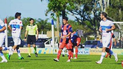 Sergio Chitero, en su época de delantero de Defensores de Pronunciamiento (club_depro)