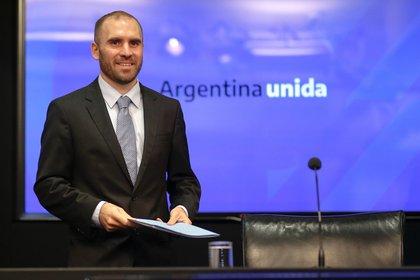 En la imagen, el ministro de economía argentino, Martín Guzmán. EFE/Juan Ignacio Roncoroni/Archivo