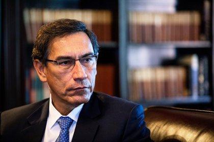 Martín Vizcarra, presidente de Perú destituido por el Congreso