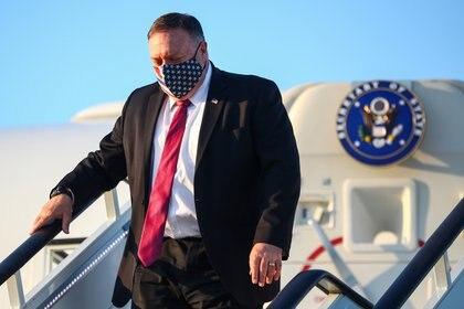 El secretario de Estado de EEUU Mike Pompeo (Reuters/ Hannah McKay/ Pool)