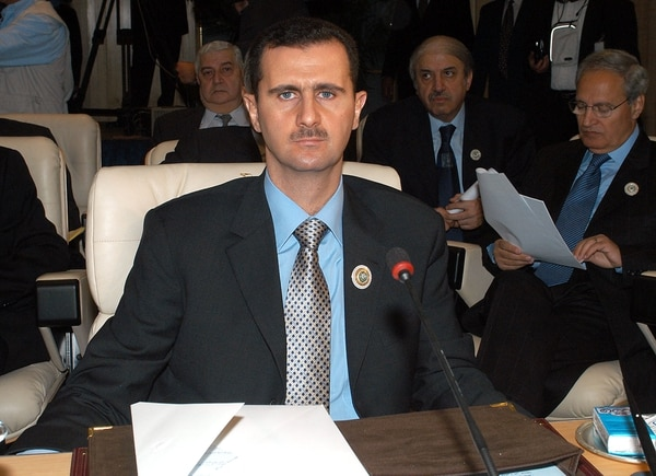Bashar al Assad (Getty)