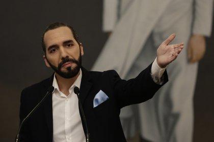 En la imagen, el presidente de El Salvador, Nayib Bukele (EFE)