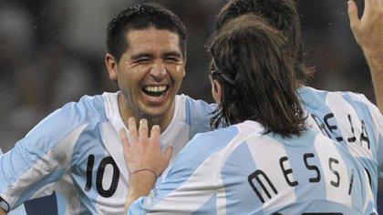 Riquelme renunció a la selección argentina en el 2008 (Foto: AFP)