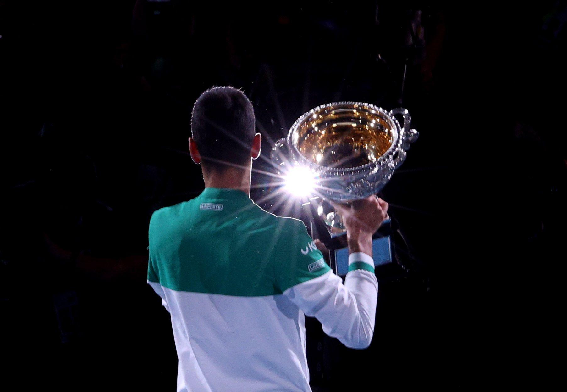 Djokovic conquistó su novena corona en Australia (Reuters)