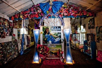 Santuario de Gilda en Entre Ríos (Silvio Fabrykant)