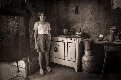 """Andy Goldstein. """"Inventarios"""". Serie """"Gente en su casa"""", capítulo """"Inundados"""" (1988)"""