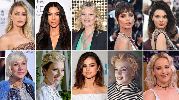 La 10 mujeres más bellas del mundo según su simetría facial