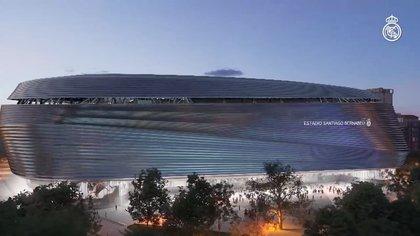 Transformación histórica del Santiago Bernabéu: Real Madrid mostró en un video cómo colocaron la imponente estructura de 800 toneladas para el techo retráctil