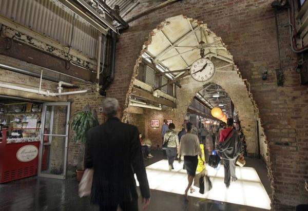 El edificio Chelsea Market por dentro. (AP)