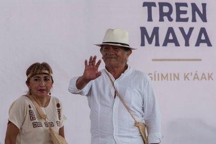 La construcción del Tren Maya comenzó a inicios de junio, con la meta de terminar dentro de dos años sus 1,460 kilómetros de extensión en los cinco estados del sureste: Tabasco, Campeche, Yucatán, Chiapas y Quintana Roo. (Foto: EFE)