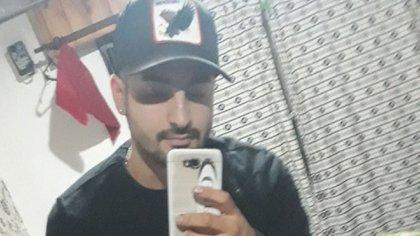 Cristian Fredes, de 23 años