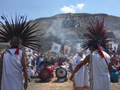 La de los danzantes es una de las tradiciones más antiguas (Foto: Infobae)