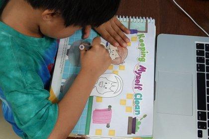 """La evaluación de las actividades realizadas mediante la estrategia """"Aprende en casa"""" servirá unicamente para mejorar las calificaciones de los estudiantes y no para perjudicarla en caso de que no se hayan podido realizar (FOTO: MOISÉS PABLO/CUARTOSCURO)"""