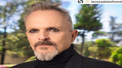 El cantante fue fuertemente criticado por no hacerse presente en el movimiento que él mismo convocó (Foto: Instagram @miguelbose)