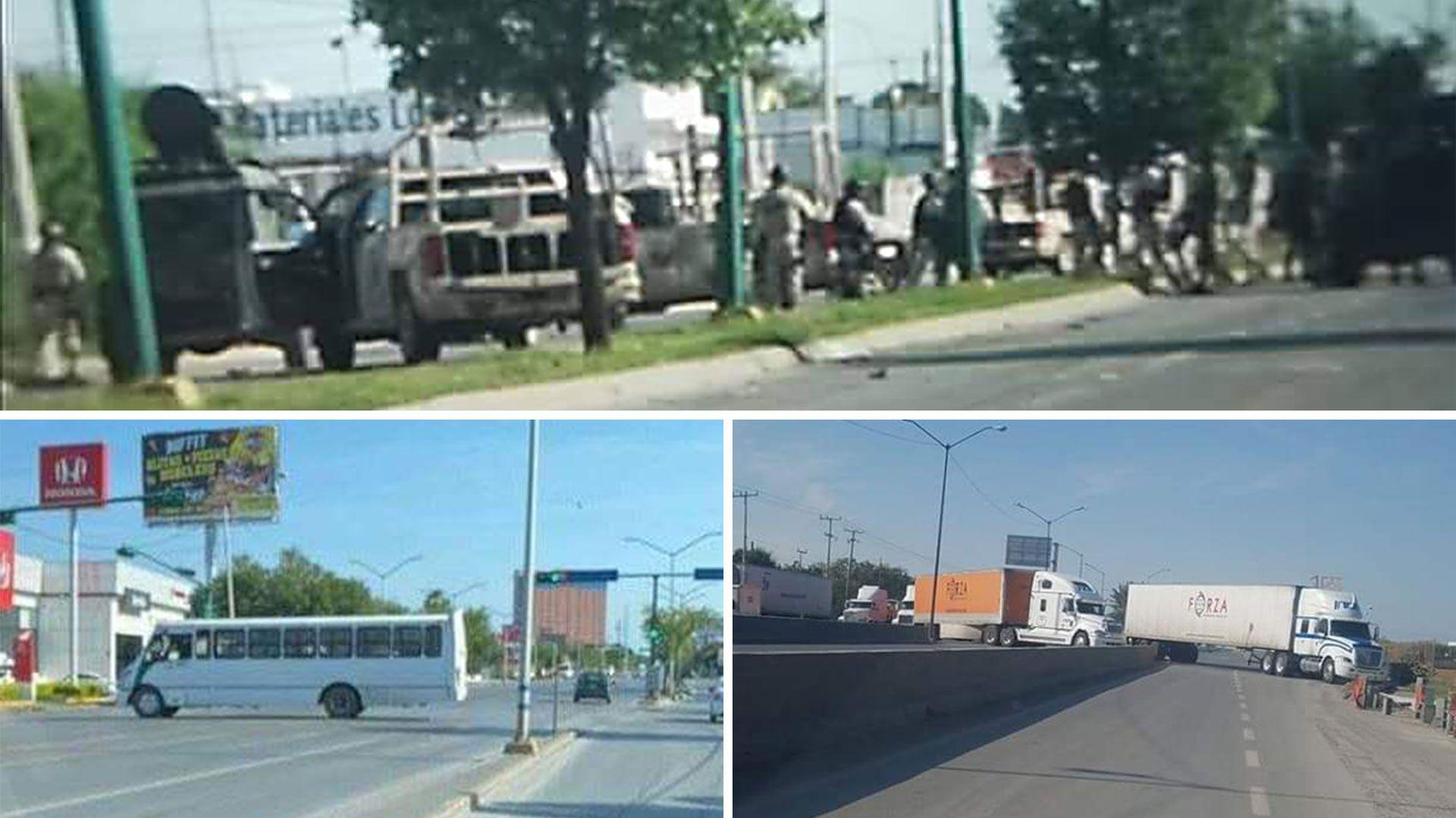 El crimen organizado desató terror en Nuevo Laredo, Tamaulipas, en tiempo de crisis por el coronavirus (Foto: Especial)