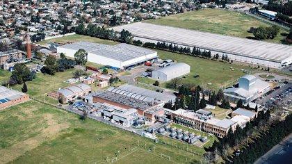 La planta BASF en Tortuguitas