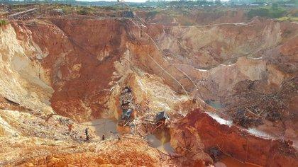 Minas de oro en Venezuela