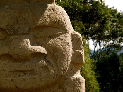 Parque Arqueológico de San Agustín, Huila. Foto: Wikimedia Commons/Leitonl