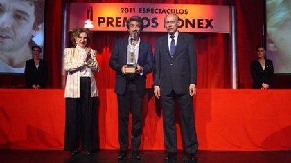 Ricardo Darín fue premiado con el Konex de Brillante en 2011