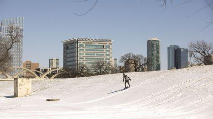 Gente haciendo deporte en la nieve (Ron Jenkins / GETTY IMAGES NORTH AMERICA / AFP)