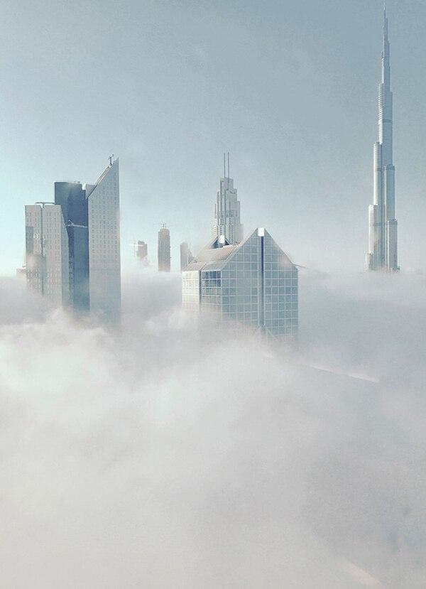 """El tercer lugar fue para Nasra Al Sharji (Omán) por """"Burj Khalifa Dubai"""". La foto del famoso edificio se tomó con un iPhone 6 en la Shaikh Zayed Road, en Dubai."""