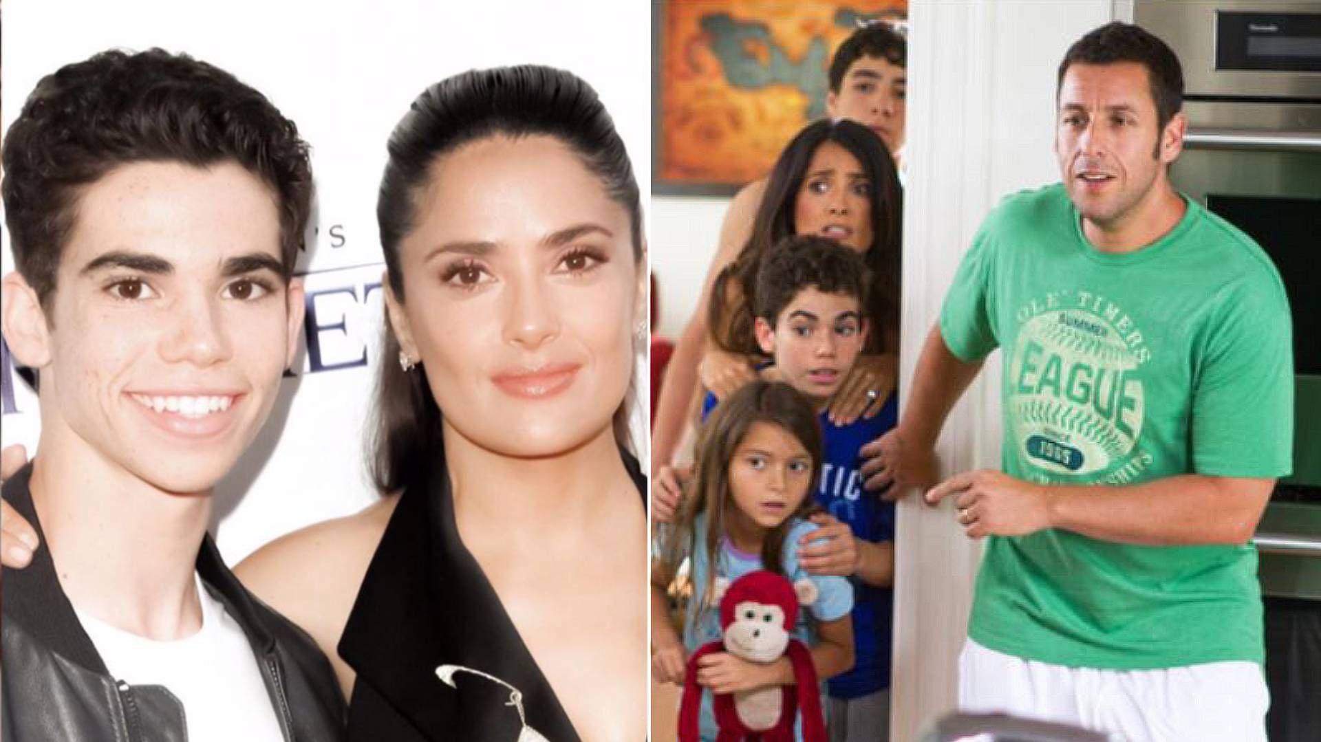 Salma Hayek y Adam Sandler lamentaron la muerte de la joven estrella de Disney a los 20 años (Foto: Especial)