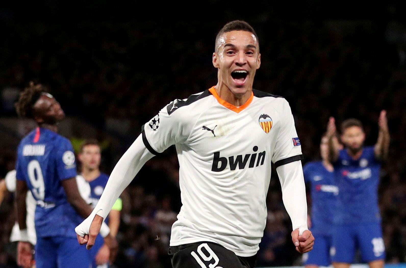 Rodrigo anotó 59 goles en 220 partidos con la camiseta del Valencia (REUTERS/Hannah McKay)