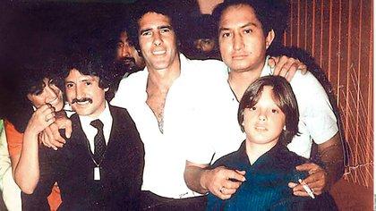 """Tan cercana era la relación de Luis Miguel con Andrés García que lo llamaba """"tío"""" (Foto: Archivo)"""