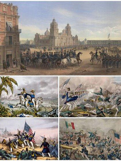 Guerra entre Estados Unidos y México (Foto: Wikipedia)