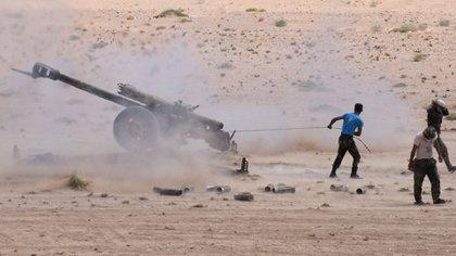 El Estado Islámico lanzó una contraofensiva para recuperar terreno en Deir Ezzor (AFP)