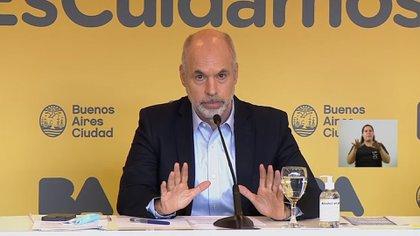 """Horacio Rodríguez Larreta, sobre el amparo por las clases presenciales: """"Vamos a acatar lo que decida la Corte Suprema"""""""