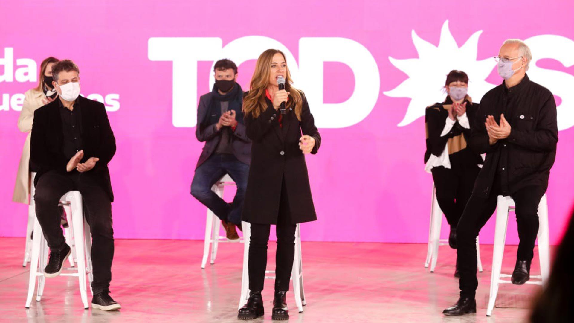 Victoria Tolosa Paz y Daniel Gollan