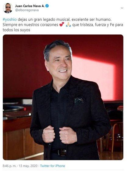 """El comediante conocido como """"El borrego"""" también externó su sentir (Foto: Twitter@elborregonava)"""