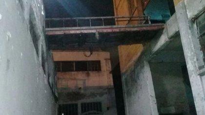 Es fue del puente del que los actores cayeron (Foto: archivo)